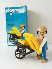 Playmobil 3369 - Medieval Kraftsman / Handwerker mit karre (OVP, Klicky Box)