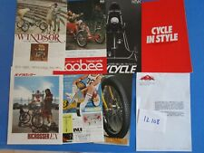 N°12108 / cycles ,bi-cross ,kart   R.&.R  japanese text 1980-1985