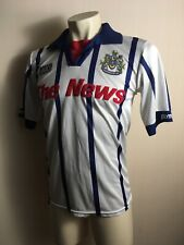 Portsmouth Away football shirt 1994 1995 THE NEWS ASICS POMPEY ENGLAND SOCCER