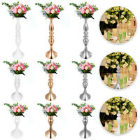 Flower Rack for Wedding Metal Candle Stand 4/11pcs Centerpiece Flower Vase