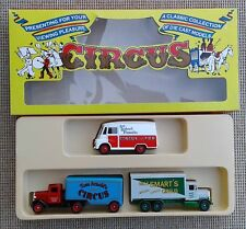 LLEDO - CIRCUS - A CLASSIC COLLECTION OF DIE CAST MODELS - BOXED.
