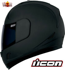 ICON ALLIANCE DARK Helmet 2X Large XXL Rubatone DOT Approved FREE SHIPPING