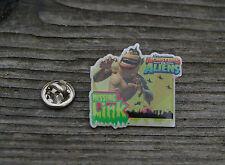 Dream Works Monsters vs Aliens Missing Link Metal & Enamel Lapel Pin Pinback