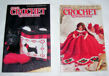 Annie's Crochet Newsletter Lot of 2 Sep/Oct #47  & Nov/Dec #48 1990