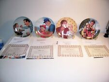 KNOWLES COLLECTORS PLATES - FATHER'S LOVE -COMPLETE SET