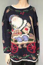 Northern Isles Santa Claus Christmas Sweater M Medium