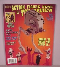 Action Figure News & Toy Review Price guide magazine #43 Mego POTA VTG Star Wars