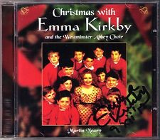 Emma KIRKBY Signed CHRISTMAS WITH Adeste Fideles Westminster Abbey Martin Neary