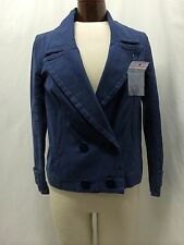 LACOSTE BLUE DOUBLE BREASTED JACKET SIZE 8 / 38 NWT