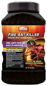 (On Backorder) Ortho Fire Ant Killer Mound Bait - 15 oz