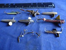 A SELECTION OF OLD VINTAGE FISHING LURES