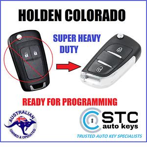 SUPER STRONG HOLDEN COLORADO RG 2012 2013 2014 2015 CAR REMOTE FLIP KEY CHIP