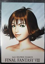 Final Fantasy 8 Rare Triple Triad Perfect Visual Card 31 Selphie TCG Opus VIII