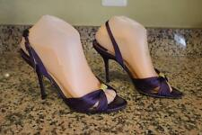 Jimmy Choo satin deep purple heel shoes size 38 (taco500