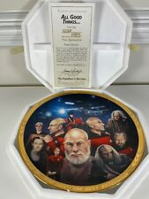 1994 Hamilton Plate Star Trek All Good Things w/ Coa #4335C (B9)