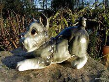 50er- & 60er-Jahre Porzellan-Tiere mit Hunde-Motiv