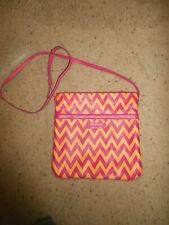 NEW Vera Bradley Slim & Trim Hipster Ziggy Zags Cross Body Handbag  SHOULDER BAG