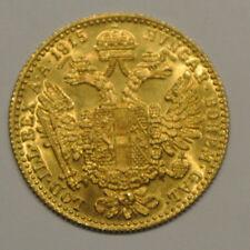AUTRICHE DUCAT OR /GOLD 1915 poids 3gr60 OR 986  millièmes presque pur