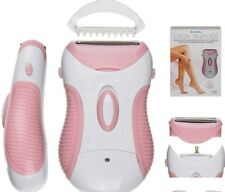 LADY WOMEN ELECTRIC WASHABLE WIRELESS RECHARGEABLE SHAVER RAZOR WET DRY TRIMMER