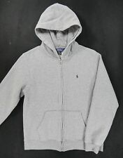 Polo Ralph Lauren Classic Solid Hoodie Jacket (Womens XL 18/20) Gray