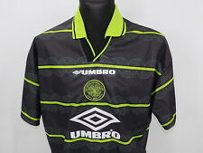 CELTIC GLASGOW Away shirt jersey UMBRO 1996-1997 Bhoys Hoops Celts