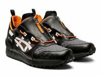 ASICS MENS TIGER GEL LYTE MT ZIP RUNNING SHOES 1191A143-001 BLACK/WHITE