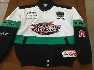 2001 Vintage NASCAR Bobby Labonte Interstate Batteries  JACKET Chase Small  NWT