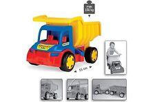 Wader 150kg Gigant LKW Kipper Kipplaster Funktion Truck Laster Spielzeugautos B