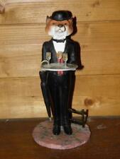 Vintage Border Fine Arts Hudson Waiter Fox Dressed In Formal Evening Wear A9798