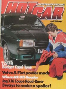 Hot Car magazine April 1981