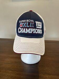 New York Giants Reebok Super Bowl XLII Champions Adjustable Hat