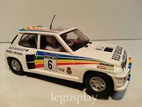 Slot SCX Scalextric Altaya Renault 5 Turbo Nº6 Rallye de la Vendimia 1983