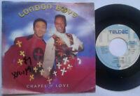 "London Boys / Chapel Of Love 7"" Single Vinyl 1990"