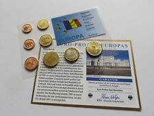 ROMANIA 2007 SET EURO COINS SPECIMEN PATTERN ESSAI PROTOTYPE  Lei România