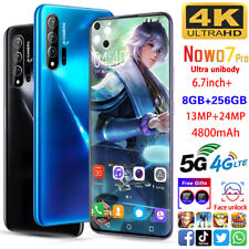 Nowo7 pro 8GB + 256GB Smartphone Pop-up Selfie Camera Octa Core Android 10