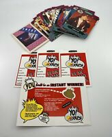 Yo! MTV Raps - Trading Card Lot - Unscratched Game Cards