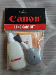CANON Lens Care Kit for Camera Lenses L-2100 Cleaning Cloth Brush