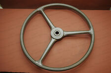 Willys MB or Ford GPW Steering Wheel. Olive Green. WWII Jeep. Lowest Shipping!