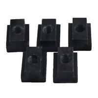 5X For Toyota Tacoma & Tundra Bed Rail Nuts T slot Cleat Tie Down Nut Brand New