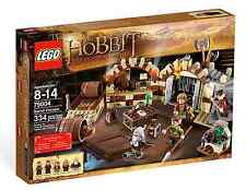 New Lego Hobbit 79004 BARREL ESCAPE Sealed Box Set Retired lotr 5 Minifigs