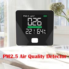 Led Display Pm2.5 Air Quality Detector Humidity Test Equipment High Sensitivity