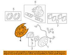 MITSUBISHI OEM 03-05 Lancer Rear Brake-Backing Plate Splash Dust Shield MR307334