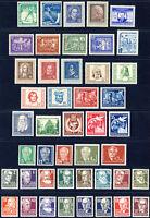 DDR 1952, Jahrgang komplett tadellos postfrisch, Mi. 620,50