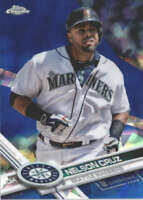 NELSON CRUZ 2017 TOPPS CHROME SAPPHIRE EDITION #109 ONLY 250 MADE