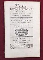 Corse en 1790 Calvi Marie Antoinette Franklin USA Saligny Saint Hilaire Louis 16