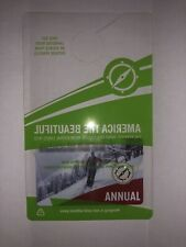 The National Parks & Federal Recreation Lands ANNUAL Pass Expires 06/30/2021