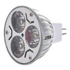 MR16 3x1 Watt LED Spot Light Bulb 20W, White, for Track Light, Landscaping N2Y1