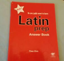 Latin Prep Book 1 (So You Really Want to Learn); ANSWER BOOK;  Zinn, Theo