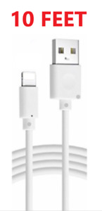 10FT Extra Long USB Cable For iPad 4 Air Mini 2 iPhone Charging Charger