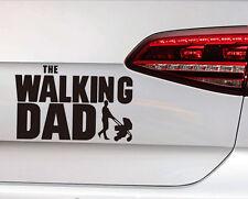 Baby on Board Sticker The Walking Dad Vater mit Kinderwagen Aufkleber Fun Decal